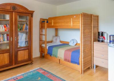 Wohnküche mit Stockbett