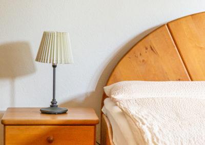Schlafzimmer Nahaufnahme